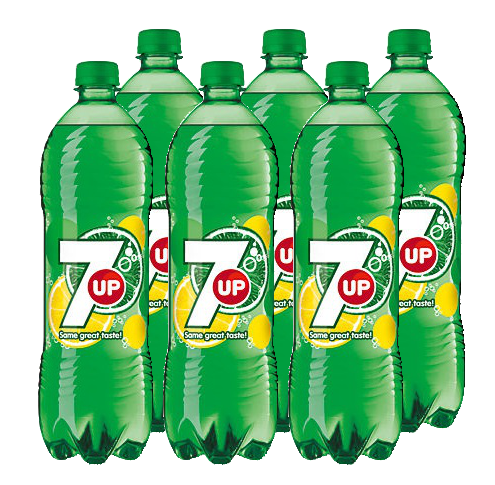 FRIS.Seven Up Pet/Tray 6x1L