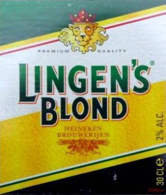 BIER.Linges Blond Krat/Flesjes 24x30cl