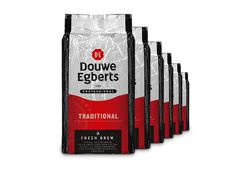 KOFFIE.Fresh Brew Traditional/Tray 6x1kg Douwe Egberts