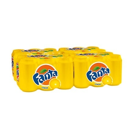 FRIS.Fanta Lemon Blik/Tray 24x33cl.