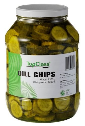 CONS.DillChips POT 2500gram TC