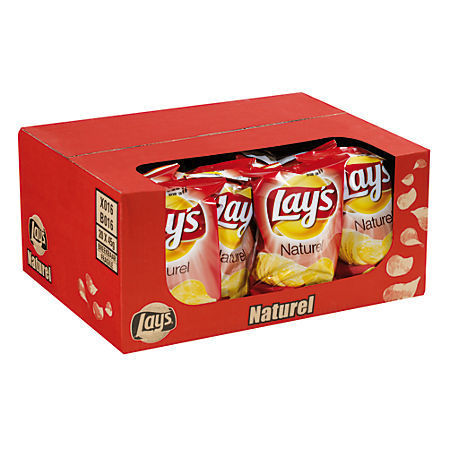CHIPS.Naturel 20x40gram Lay's