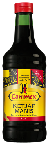SAUS.Ketjap Manis TRAY 12x250ml CONIMEX