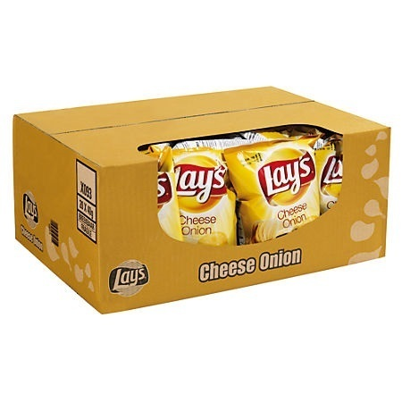 CHIPS.Cheese Onion 20x40gram Lay's