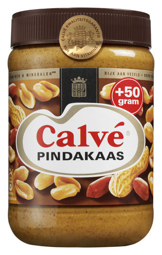 FOOD.Pindakaas Pot 650gram Calvé