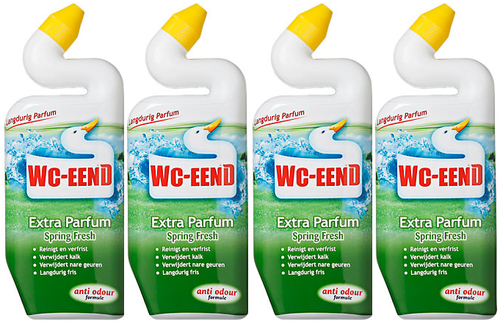REIN.WC-Eend GROEN/TRAY 4x750ml