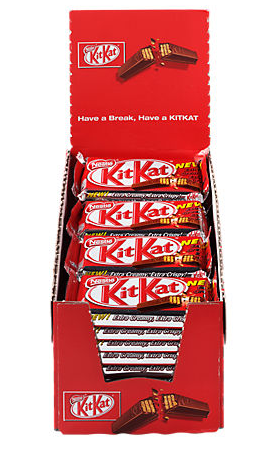 ZOETW.Kitkat Single 36x45gram NESTLE