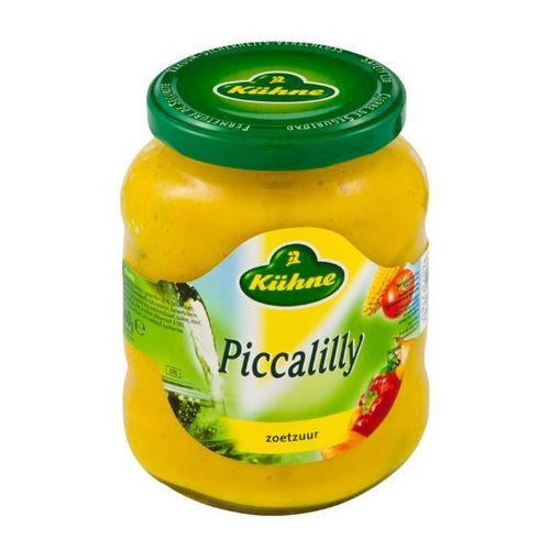 SAUS.Piccalilly Pot 370ml Kühne