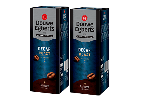 DIEPV.Cafitesse Decaf Roast Intensity 5 Tray 2x1,25L Douwe Egberts