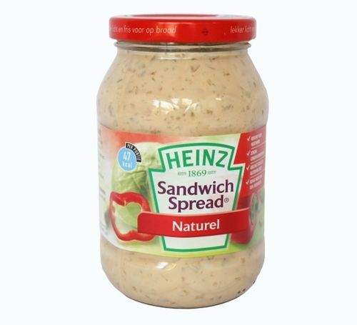 CONS.Sandwichspread Naturel POT 450gram