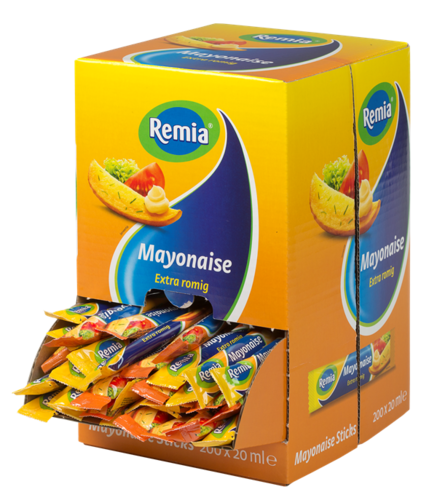 SAUS.Mayonaise Sticks 200x20ml Remia