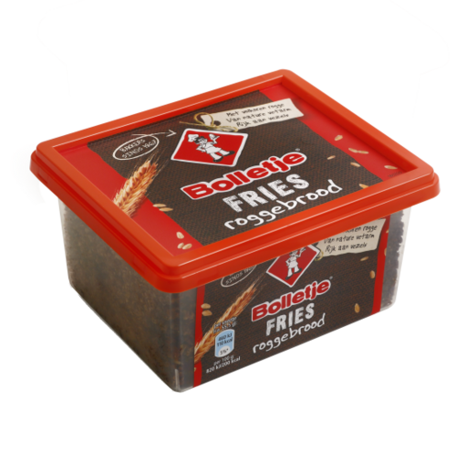 FOOD.Roggebrood Fries KUIP 500gram