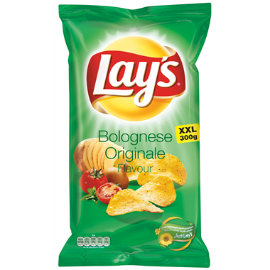 CHIPS.Bolognese Party Pack 335 gram Lay's