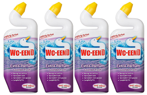 REIN.WC-Eend PAARS/TRAY 4x750ml