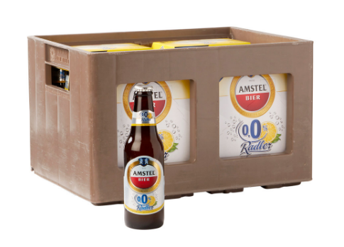 bier amstel radler 0 0 krat flesjes 24x30cl tt noord. Black Bedroom Furniture Sets. Home Design Ideas