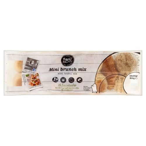 BROOD.Mini Brunchmix Afbak 12x25gram EasyBakery