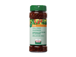 FOOD.Chili Ringen Gedroogd Pot 55gram Verstegen
