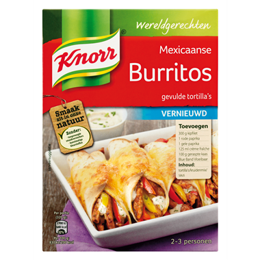 FOOD.Burritos W.G. 223gram KNORR