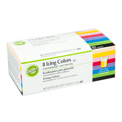 FOOD.Icing Color Kit 8x28gram WILTON