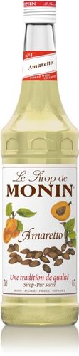 FOOD.Monin Siroop Amaretto 70cl.