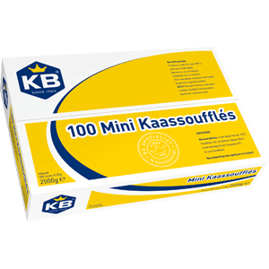 DIEPV.Kaassouffle Mini 100x25gram KB