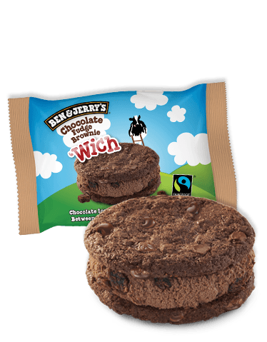 BEN&JERRY.Wich Choc Fudge Brownie 20x80ml 85357