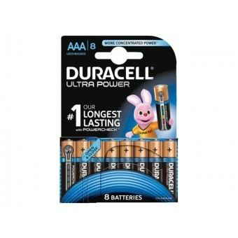 NONF.Batterijen AAA Ultra-Power 8stuks DURACELL