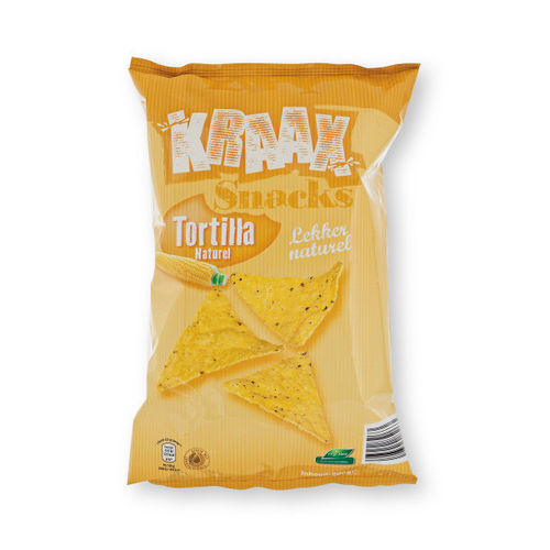 CHIPS.Tortilla Naturel Zak 200gram R&R