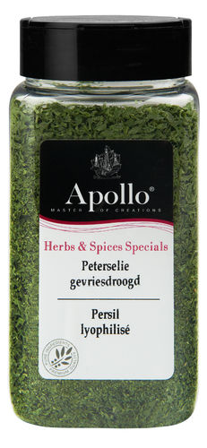 FOOD.Peterselie Vriesdroog BUS 20gram Apollo