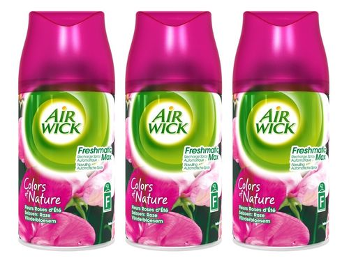 REIN.Airwick Freshmatic Vlinderbloesem TRAY 3x250ml