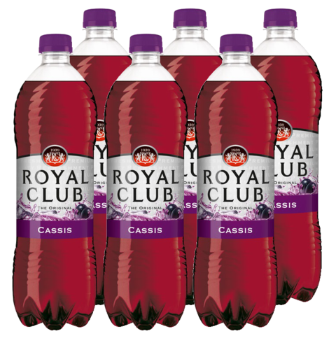 FRIS.Cassis Pet/Tray 6x1L RoyalClub