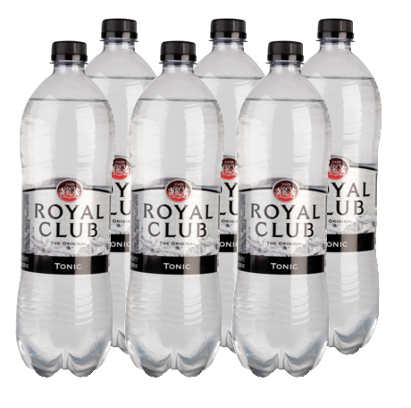 FRIS.Tonic Pet/Tray 6x1L RoyalClub