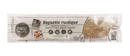 BROOD.Baquette Rustique Wit Afbak 250gram