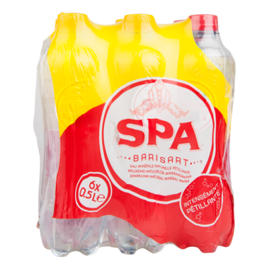 FRIS.Spa Rood Pet/Tray 6x50cl