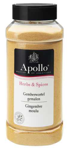 FOOD.Gemberwortel Gemalen Bus 350gram Apollo
