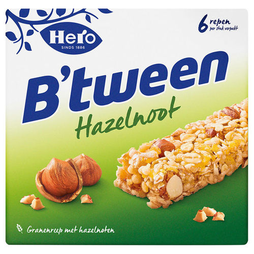 ZOETW.B'tween Hazelnoot 6x25gram Hero