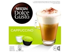 KOFFIE.Dolce Gusto Cappuccino 8+8cups
