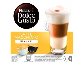 KOFFIE.Dolce Gusto Latte Macchiato Vanille 8+8cups