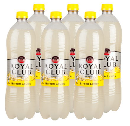 FRIS.Bitter Lemon Pet/Tray 6x1L RoyalClub
