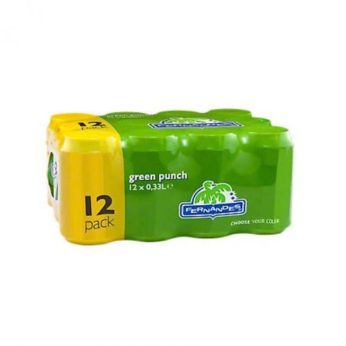 FRIS.Fernandes Green Punch Blik/Tray 12x33cl.