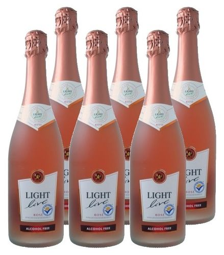FRIS.Light Live Sparkling Rosé 6x75cl.