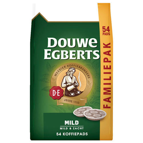 KOFFIE.Douwe Egberts Aroma Rood Mild 54pads
