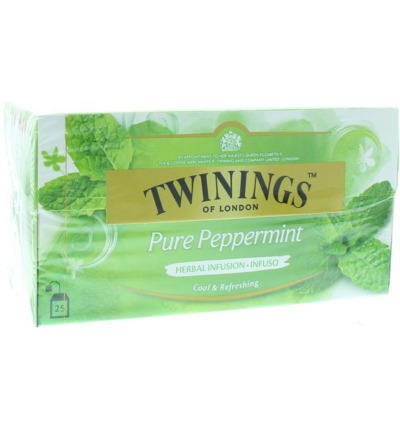 THEE.Peppermint 25x2gram Twinings