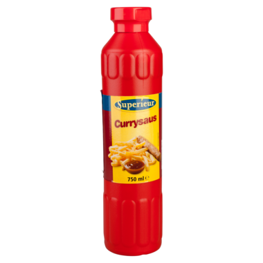 SAUS.Currysaus Tube 750ml Superieur