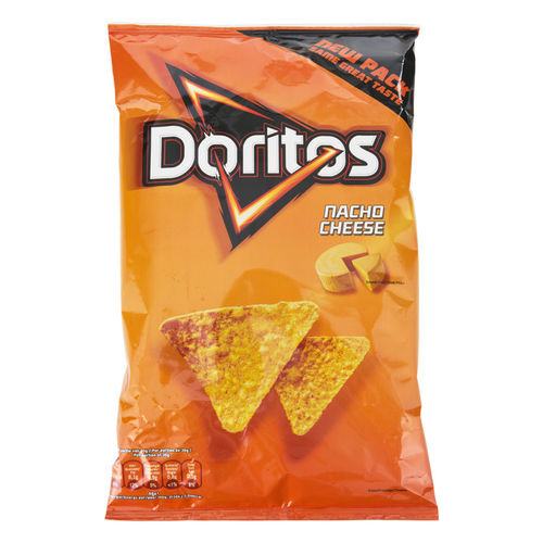 CHIPS.Doritos Nacho Cheese Zak 185gram