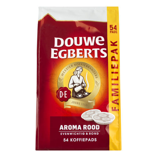 KOFFIE.Douwe Egberts Aroma Rood 54pads