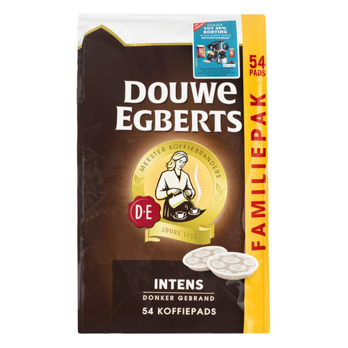 KOFFIE.Douwe Egberts Aroma Rood Intens 54pads