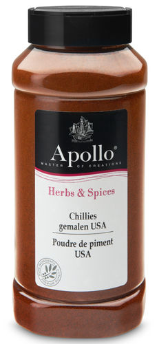 FOOD.Chillies Gemalen USA Bus 500gram Apollo