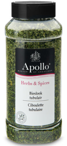 FOOD.Bieslook Tubulair Bus 40gram Apollo