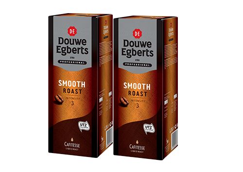 KOFFIE.Cafitesse Smooth Roast Intensity3 2x1,25L DouweEgberts